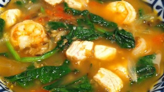 Photo of Mongo Guisado (Mung Bean Soup) by lola