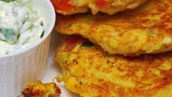 Photo of Chicken Veggie Fritters by Crafty Cooking by Anna