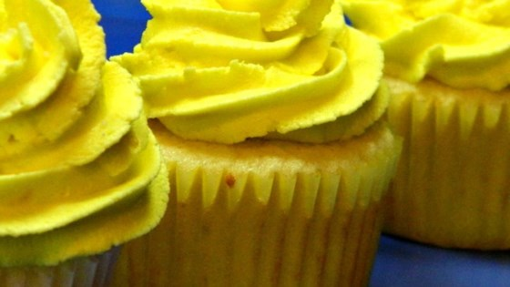 Photo of Lemon Cupcakes with Lemon Frosting by AngelaD