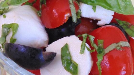 'Cherry' Caprese Salad