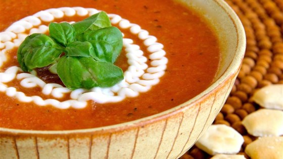 Creamy Tomato Soup No Cream Recipe Allrecipes Com