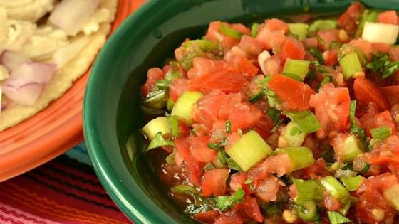 Fresh Tomato Salsa Restaurant-Style Recipe