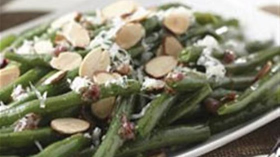 Photo of Green Beans with Warm Dijon Vinaigrette by Mazola