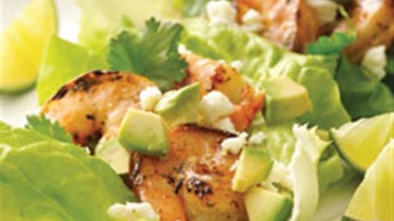 Photo of Mojito Shrimp Lettuce Wraps by Mazola