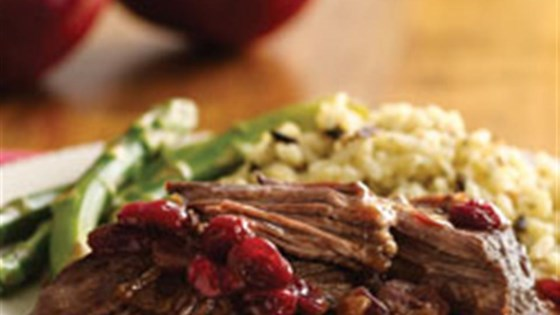 Photo of Pot Roast with Cranberry Pomegranate Sauce by Mazola