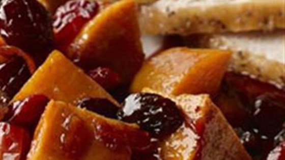 Photo of Spiced Sweet Potatoes and Cranberries by Mazola