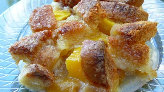 Photo of Too Easy Peach Cobbler by Joan Spinasanto