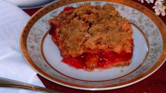 Photo of Rhubarb Cherry Crisp by Kel