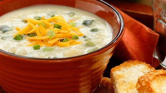 Photo of Creamy Poblano Potato Soup by Idahoan