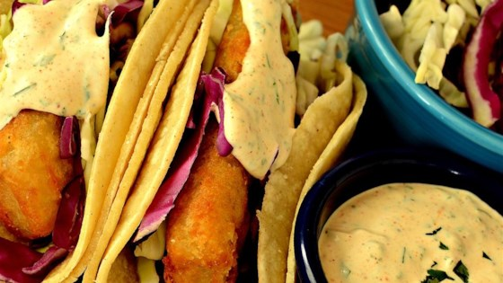 Baja Sauce for Fish or Shrimp Tacos Recipe
