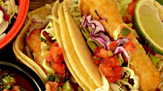 Photo of Wonderful Fried Fish Tacos by Christine
