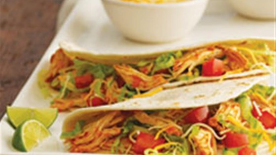 Photo of Slow Cooker Chicken Tinga Tacos by Mazola