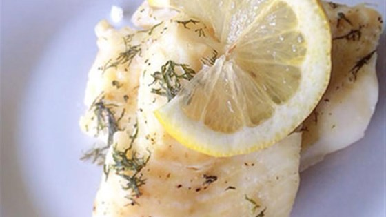 Photo of Salt-Crusted Lemon-Dill Cod Fillets by LazyFoodieGirl