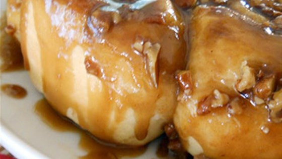 Photo of Salted Caramel Pecan Sticky Buns by Diamond Crystal Salt
