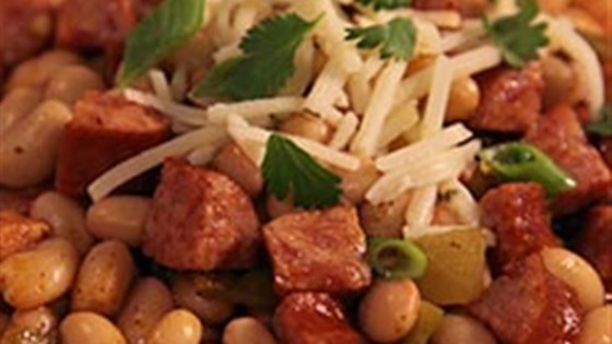 Photo of Smoked Sausage White Bean Chili by Hillshire Farm® Brand