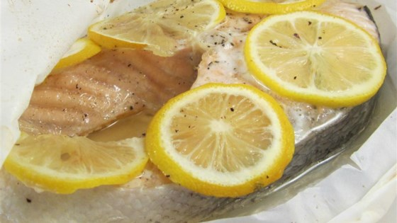 Photo of Parchment Baked Salmon by tiger77