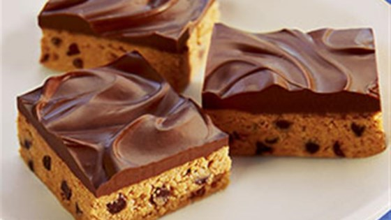Photo of No-Bake Chocolate Peanut Butter Bars by Nestle Toll House
