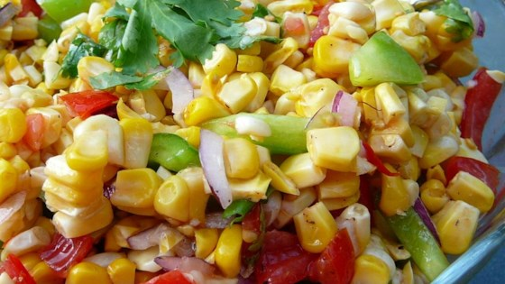 Photo of Grilled Corn Salad by AMBERT77