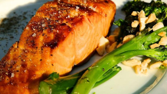 Photo of Sweet Glazed Salmon by Leeves