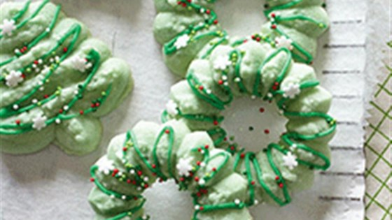 Photo of Holiday Spritz Cookies by Crisco