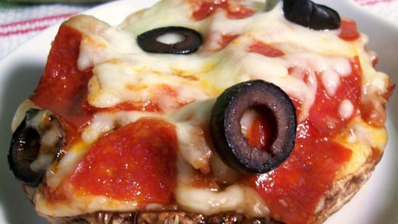 Personal Portobello Pizza
