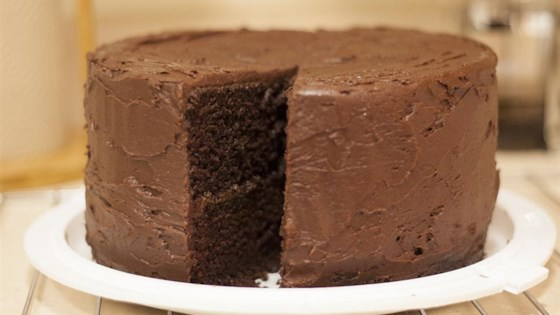 Dark Chocolate Cake II Recipe