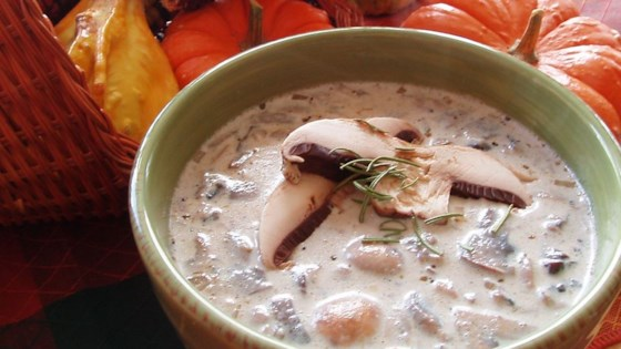 Photo of Creamy Mushroom Soup by Lori