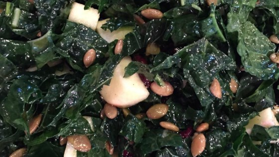 Photo of Kale Salad with Apple and Cranberries by Jen G.