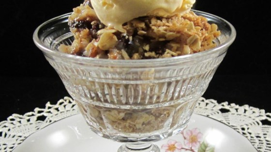 Photo of Apple and Dried Cranberry Crisp by Stoney Lake