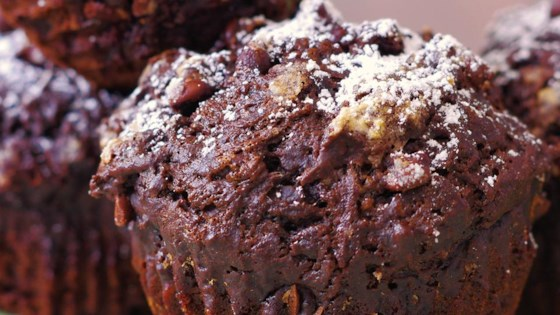Photo of Chocolate Banana Muffins by Crafty Cooking by Anna