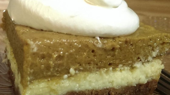 Photo of Pumpkin Cream Cheese Dessert by BZEEFMOM