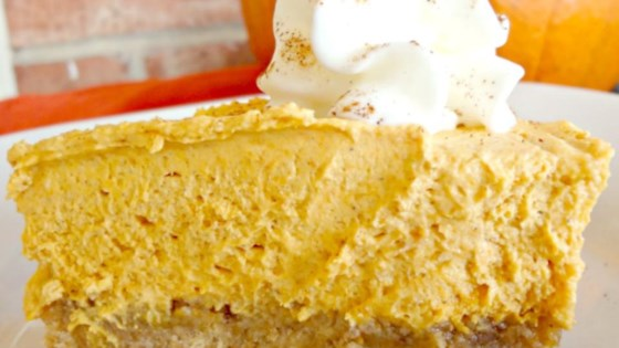 Photo of Whipped Pumpkin Pie by luvtobake
