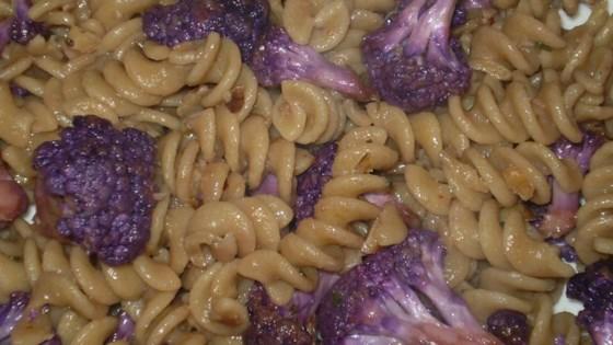 Photo of Purple Cauliflower Pasta by schnitzell