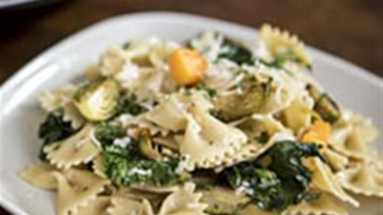 Photo of Farfalle with Roasted Winter Vegetables & Parmigiano-Reggiano Cheese by Barilla