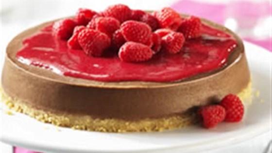 Photo of Chocolate-Raspberry Cheesecake by Philadelphia Cream Cheese