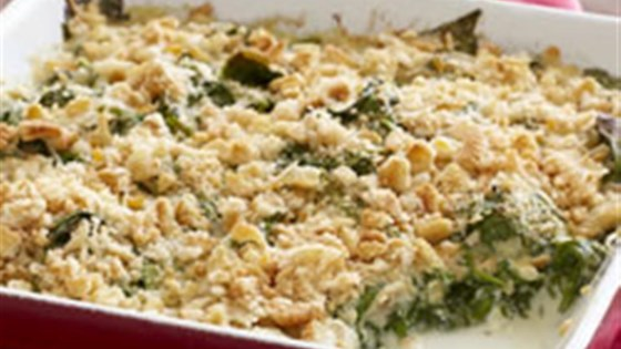 Photo of Saucy Spinach Bake by PHILADELPHIA Cream Cheese