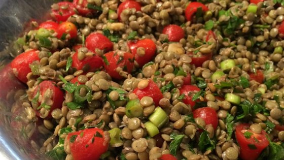 Photo of Cold Lentil Salad by Lindsay L.