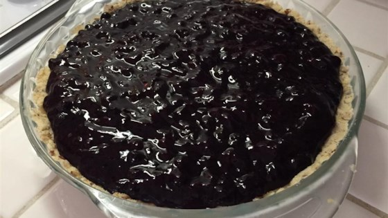Photo of Huckleberry Cream Cheese Pie by Jamie Trump