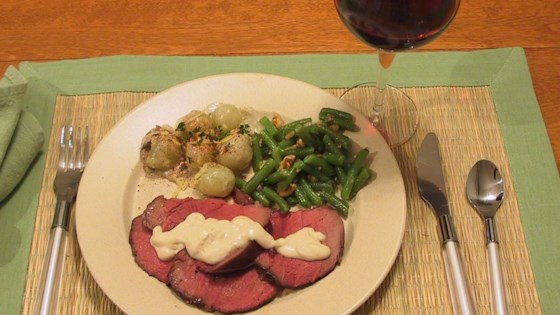 Photo of Blue Cheese Beef Tenderloin by J MILLER