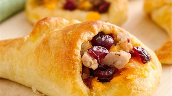 Photo of Sausage-Stuffed Crescent Cornucopias by Pillsbury