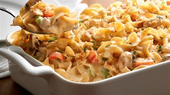 Photo of NO YOLKS® Creamy Chicken Noodle Casserole by NO YOLKS®