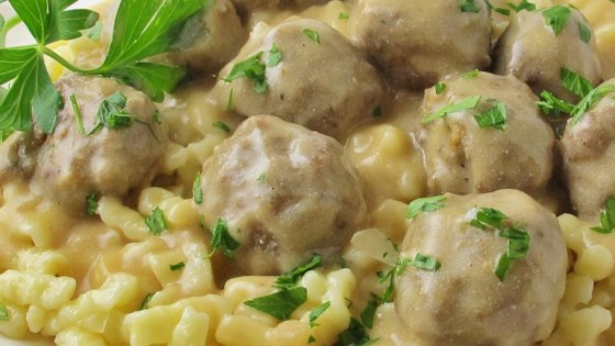 Photo of Swedish Meatballs (Svenska Kottbullar) by Nom Nom Nom