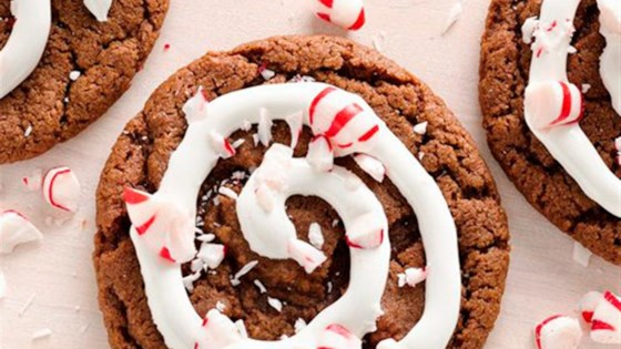 Photo of Peppermint Hot Cocoa Cookies by Pillsbury