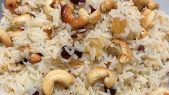 Photo of Rice with Almonds and Raisins by Annette