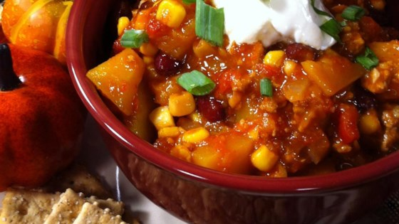 Photo of Butternut Squash and Turkey Chili by CPolencheck
