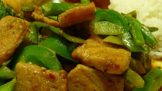 Photo of Hoisin Pork Stir Fry by vchooch13