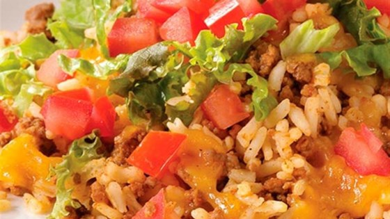 Photo of One-Pan Taco Dinner by Minute Rice