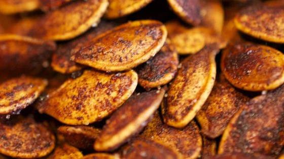 Photo of Roasted Cinnamon Spice Pumpkin Seeds by Suzie Lopez O'Connor