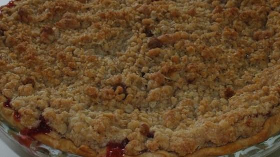 Photo of Strawberry Rhubarb Pie III by Joan Spinasanto