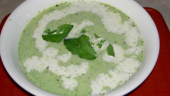 Photo of Green Pea and Mint Soup by dakota kelly